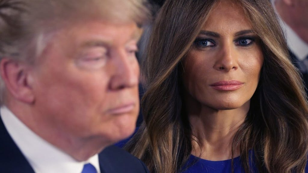 """Melania quits campaigning for her husband, blames it on a cough, and Twitter's like """"Sure, Jan"""""""
