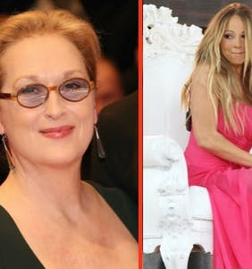 Meryl Streep's perfect four-word response to Mariah Carey stealing her seat