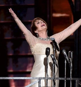 Patti LuPone took everyone to queer church last night and gay Twitter is having a religious meltdown