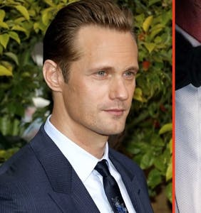 Alexander Skarsgard's famous male date is all over his secret Instagram account
