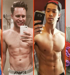 Derrick Gordon's gym bulge, Olly Murs' summer bod, & Justin Bieber's Bible