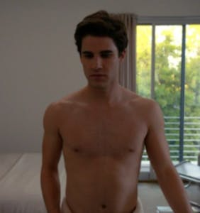 "Darren Criss shows off his very best assets in leaked ""American Crime Story"" footage"