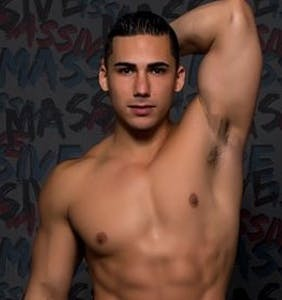Andrew Christian beheads Topher DiMaggio