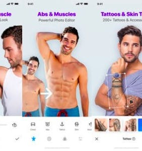 "Dating app under fire for encouraging men to alter their appearances to look more ""manly"""