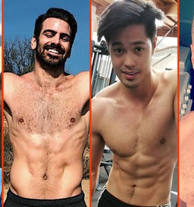 Nyle DiMarco's shirtless hike, Ricky Martin's spread, & Wilson Cruz's birthday suit