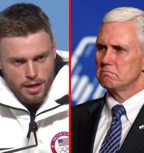 Gus Kenworthy to Mike Pence: Girl, bye!