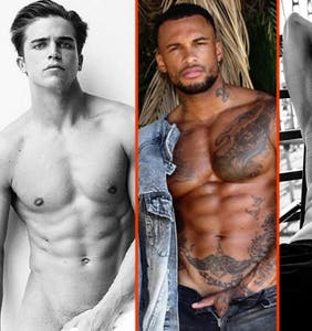 Gus Kenworthy's peach, James Maslow's pole, & David McIntosh's wandering hands