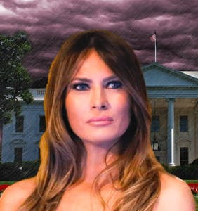 Melania Trump had the entire White House exorcised but they missed the most obvious demon
