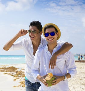 Since Bermuda has banned marriage equality, here's some beach alternatives that will welcome us