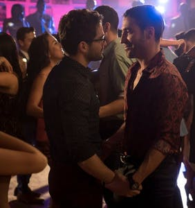 WATCH: Hunky 'Sense8' star accidentally shows off way more than he intended