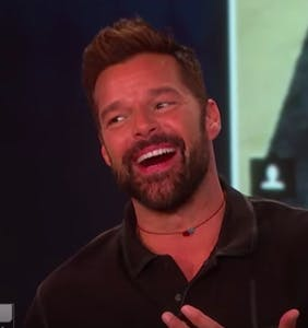 "Ricky Martin responds to Gus Kenworthy's M4M ad, says he ""definitely"" wants to ""connect"""