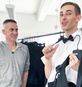 "Adam Rippon fires back at harness haters: ""I felt cool AF"""