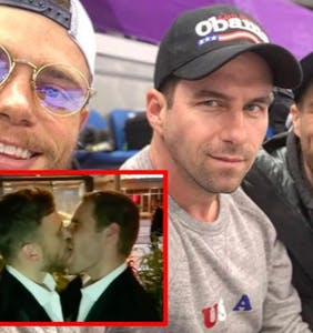 Meet the guy who watches Gus Kenworthy and Matt Wilkas make out all the time