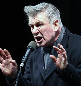 Alec Baldwin back to his old ways, bashing gay men and generally being a toxic male
