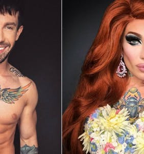 13 drag queens (and one drag king) who manage to be hot as men and women