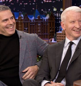 Anderson Cooper posts cryptic message vowing revenge on Andy Cohen for shirtless photo leak