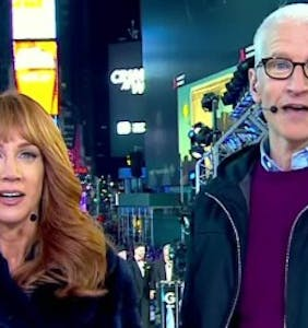 Who would Kathy Griffin save from death — Andy Cohen or Anderson Cooper? (Trick question)