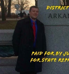 """This statehouse candidate just made """"f*gs are disgusting"""" his new campaign slogan"""