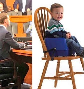These Mark Zuckerberg in a booster seat memes are the best thing you'll see all day