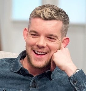 How much would you pay for this shirtless oil painting of Russell Tovey as a gay superhero?