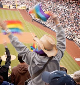 A simple 4-word text sent by a dad to his gay teen from a baseball game speaks volumes