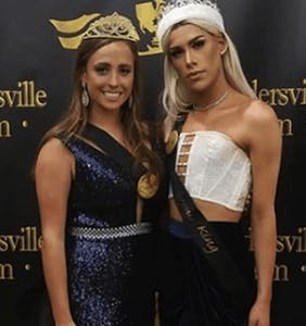 Parents attack prom king for wearing dress; peers think he's fabulous