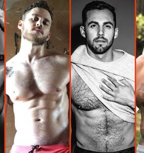 Chris Mazdzer's fur, Olly Murs' biggun, & Austin Armacost's ménage à trois