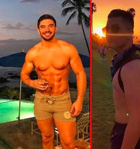 Steve Grand hooks up with fellow recording artist Michael Medrano