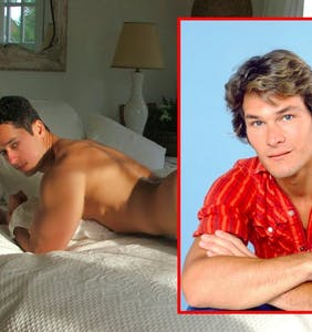 """""""I did Swayze"""": Adult film star claims he once had sex with Patrick Swayze"""