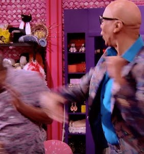 WATCH: RuPaul slaps Asia O'Hara upside the head