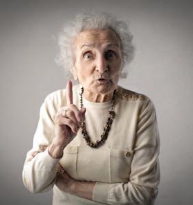 This woke grandma isn't having any of her son's homophobic B.S.