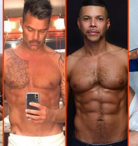 Tom Daley's team bath, Wilson Cruz's snack, & Simon Dunn's bushes