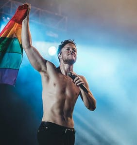 Imagine Dragons frontman Dan Reynolds takes his fight for LGBTQ rights all the way to Capitol Hill