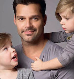 Ricky Martin says he wishes his kids were gay