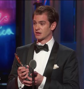 Andrew Garfield dedicates Best Actor Tony win to LGBTQ community in empowering speech