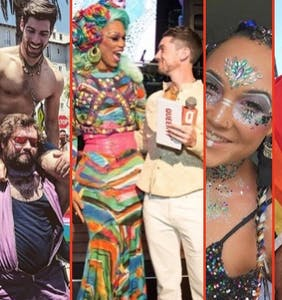 Ada Vox slays, Pride looks compete for least clothing, Tom Daley plays ball & more