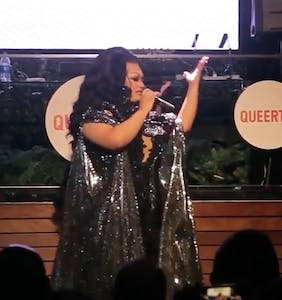 WATCH: Ada Vox brings the house down at the Queerty Pride 50 celebration