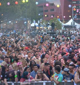 So many people showed up to LA Pride that organizers had to turn hundreds away
