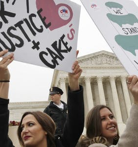 Bigots rejoice over SCOTUS ruling, say 'It's great to see the gay couple in the case lose!'