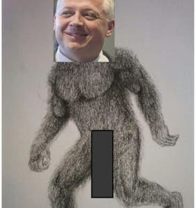 A right-wing GOP candidate apparently has a thing for Bigfoot erotica. Of course.