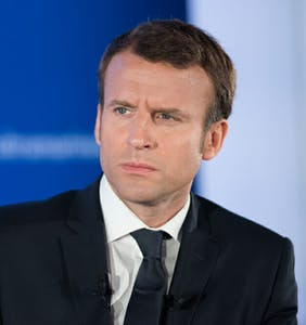 Emmanuel Macron insists his former hunky bodyguard is not his gay lover