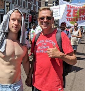 HIV activists take over the streets of Amsterdam with rallying cry 'U=U'