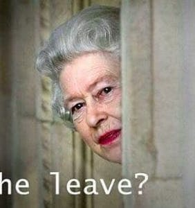 Trump's disastrous meeting with Queen Elizabeth has been immortalized in memes