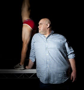 """Guy Branum on """"getting drunk & trying to F***"""" and gay culture's magnificent tools"""
