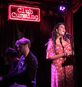 """Watch Monica Lewinsky serenade a bar full of gays with """"Over the Rainbow"""" at New York's Club Cumming"""
