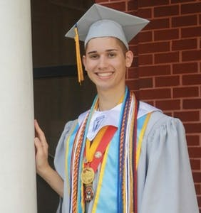 Teen's parents threw him to the curb for being gay, but just look at him now