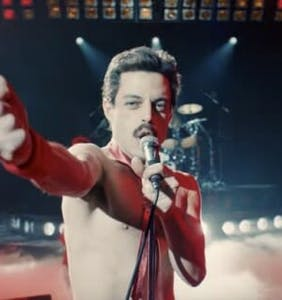 Rami Malek as Freddy Mercury, and 12 movies we can't wait to see this year