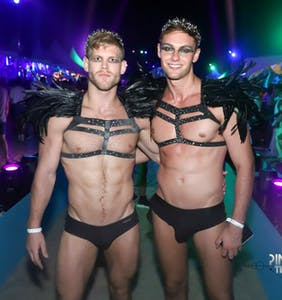 40 sexy AF pics from the Pines Party, Fire Island's annual dance party on the beach