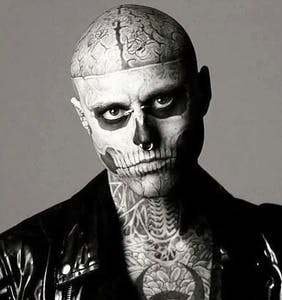 "Rick ""Zombie Boy"" Genest, from Lady Gaga's ""Born This Way"" video, has died"