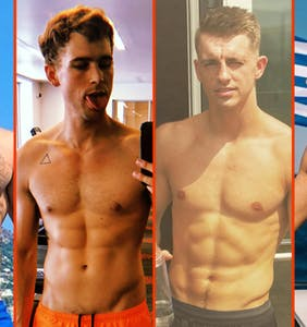 Gus Kenworthy's burn, Nyle DiMarco's squat, & Steve Grand's cold shower